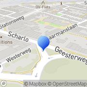 Kaart Krijgsman Bloemen- en Plantenhandel Fred Alkmaar, Nederland