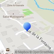 Carte de Carrara et Fils S.A. Prissé, France