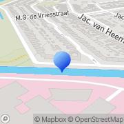 Kaart Ruscau D T Den Helder, Nederland