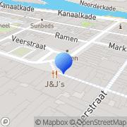 Kaart Couvée R A Alkmaar, Nederland