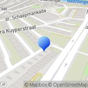 Kaart Krida Budaya Indonesische Dansgroep Alkmaar, Nederland
