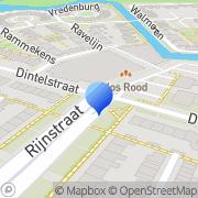 Kaart Wolvetang C Alkmaar, Nederland