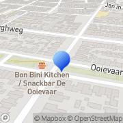 Kaart Kapsalon Syl's Haarstudio Den Helder, Nederland