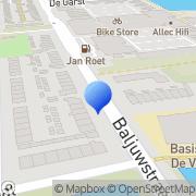 Kaart Accuratext Den Helder, Nederland
