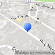 Carte de I.V. S.A. - Imprimerie Ville et Fils Givors, France