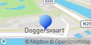 Kaart Vos & Zn BV Metaalhandel J J Den Helder, Nederland