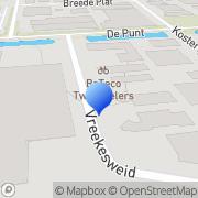 Kaart Print Factory Langedijk Broek op Langedijk, Nederland