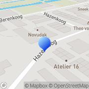 Kaart Goes en Groot Ecologisch Onderzoek vd Alkmaar, Nederland