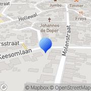 Kaart Hoptext Den Burg, Nederland