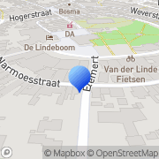 Kaart MHIT Automatisering Den Burg, Nederland