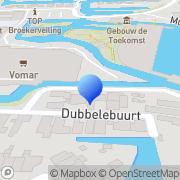 Kaart Spectra Schildersbedrijf J Hoeksma Broek op Langedijk, Nederland
