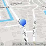 Kaart CJ Kappers Zuid-Scharwoude, Nederland