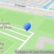 Kaart SV Kleine Sluis Oost Anna Paulowna, Nederland