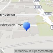 Kaart Ege Marmer Koog aan de Zaan, Nederland