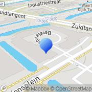 Kaart All-Round Artiestenburo Heerhugowaard, Nederland