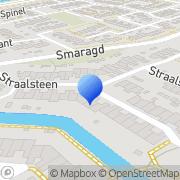 Kaart Polder Tekst en Project L Heerhugowaard, Nederland