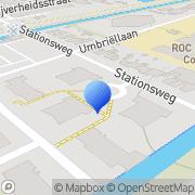 Kaart Stoop G Heerhugowaard, Nederland