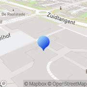 Kaart Kledingreparatie-Stomerij Middenwaard Heerhugowaard, Nederland