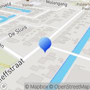 Kaart Multimate Anna Paulowna, Nederland