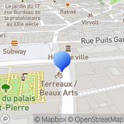 Carte de Géodis Lyon, France