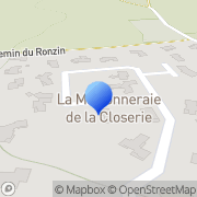 Carte de Coatex S.A.S. Genay, France