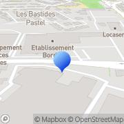 Carte de Bordet S.A. Avignon, France