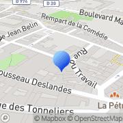 Carte de D.I.V.A. S.A. - Distribution International de Vins et Alcools Beaune, France