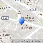 Carte de Logis A La Villa Boucicaut Chalon-sur-Saône, France