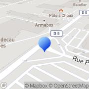 Carte de Flakt Solyvent Ventec S.A.S. Chalon-sur-Saône, France
