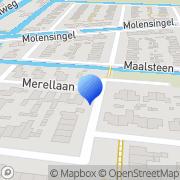 Kaart JG Techniek Wieringerwaard, Nederland