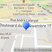 Carte de Danel Services S.A. Villeurbanne, France