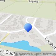 Kaart Verti Advies Oosterhout Vijfhuizen, Nederland