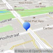 Kaart Brandmeester BV Amsterdam, Nederland