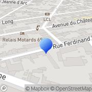 Carte de Erbé Maroquinerie S.A. Lyon, France