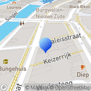 Kaart Vrolijk Gay & Lesbian Bookshop en DVD Amsterdam, Nederland