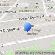 Kaart Boekenvoordeel BV Amsterdam, Nederland