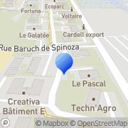 Carte de Fredenhagen France S.A.R.L. Avignon, France