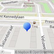 Kaart Technos Telecom Amsterdam, Nederland