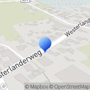 Kaart Goodyear Stucadoors Westerland, Nederland