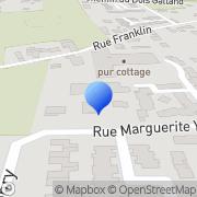 Carte de Etablissement R. Prat S.A. Vaulx-en-Velin, France