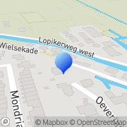 Kaart Lekkerkerker Fa Leerbewerkingsbedrijf Lopik, Nederland