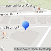 Carte de C.N.E. - £Coopérative Nouvelle d'Electricité Vaulx-en-Velin, France