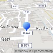 Carte de Data Foot S.A.R.L. Saint-Donat-sur-l'Herbasse, France