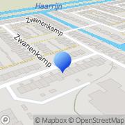 Kaart HVI Glas- en Schilderwerken Maarssen, Nederland
