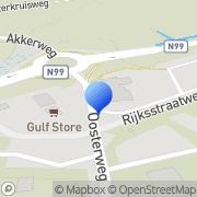Kaart Gulf Tankstation Den Oever Den Oever, Nederland