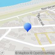 Kaart Bakke René Den Oever, Nederland