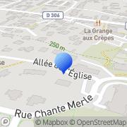Carte de Doga S.A. Saint-Bonnet-de-Mure, France