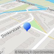 Kaart Pastorie Tekstschrijfbureau De Maarssen, Nederland