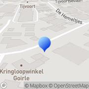 Kaart Doe het zelf dump Goirle, Nederland