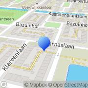 Kaart Scipio Schilderwerken Utrecht, Nederland